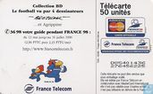 Telefoonkaarten - France Telecom - Le football vu par 4 dessinateurs: Bretecher