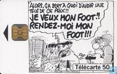 Le football vu par 4 dessinateurs: Binet