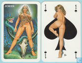 Aslan II, Carta Mundi, Turnhout, 32 Speelkaarten + 1 joker, Playing Cards