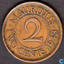 Maurice 2 cents 1943