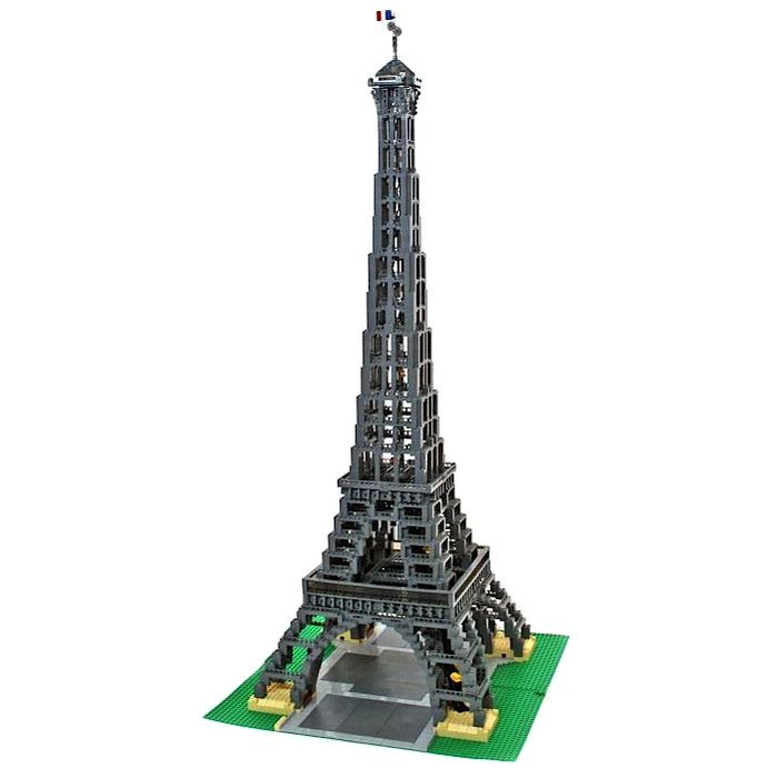 how to build lego eiffel tower