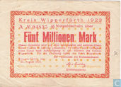 Wipperfurth 5 Miljoen Mark