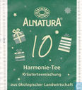 Tea bags and Tea labels - Alnatura - 10 Harmonie-Tee