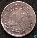 Maurice 10 cents 1886
