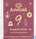 Tea bags and Tea labels - Alnatura -  9 Bergkräutertee