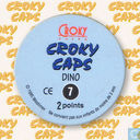 Caps and pogs - Croky Caps [FRA] - Dino