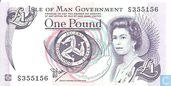 Isle of Man 1 Pound (P40a)