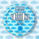 Caps and pogs - Korrrong - Dino