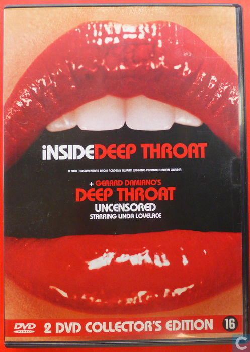 Inside deep throat deep throat uncensored dvd catawiki for Inside unrated