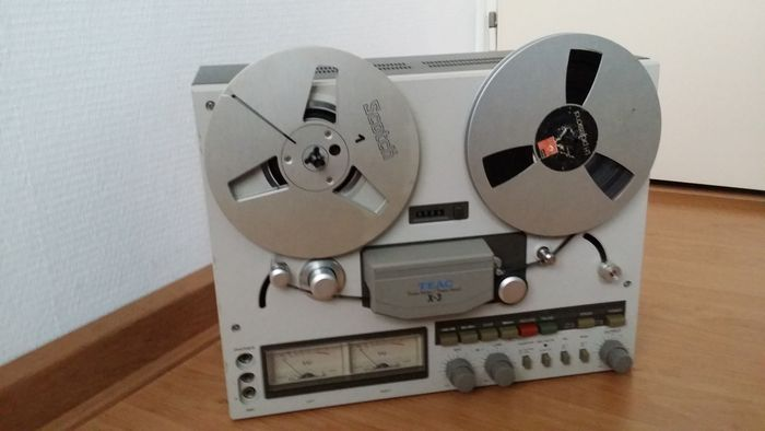 TEAC X3 / X-3 Reel to Reel taperecorder, 1980