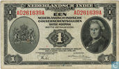 Dutch East Indies 1 Gulden