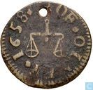 Great Britain  Olney (James Brierly) farthing-token  1658