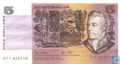Australië 5 Dollars ND (1983)
