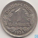 German Empire 1 reichsmark 1934 (E)