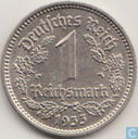 German Empire 1 reichsmark 1933 (E)