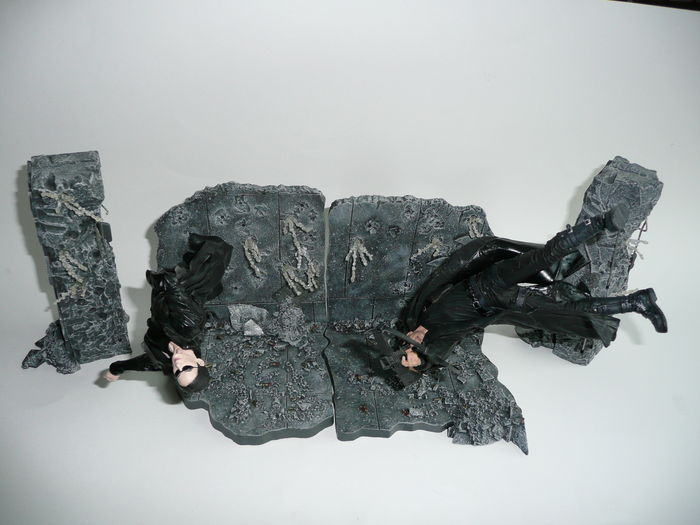 Movie Actionfigures - McFarlane - Hoogte ca 16 cm - Figuren uit The Matrix, Pirates of the Caribbean en Spawn V