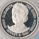 "Tristan da Cunha 25 pence 1980 (PROOF) ""80th Birthday of Queen Mother"""