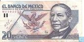Mexico 20 Pesos  (Copy) (Copy)