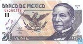 Mexico 20 Pesos  (Copy)