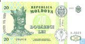 Moldavie 20 Lei 1995