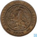 Pays Bas 1 cent 1897