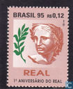 Anniversary of the introduction of the real currency