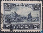 Old port of Montevideo 1830