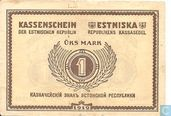 Estonia 1 mark