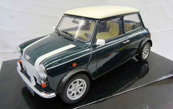 Premium Classixxs - Schaal 1/12 - Mini Cooper British Racing Green