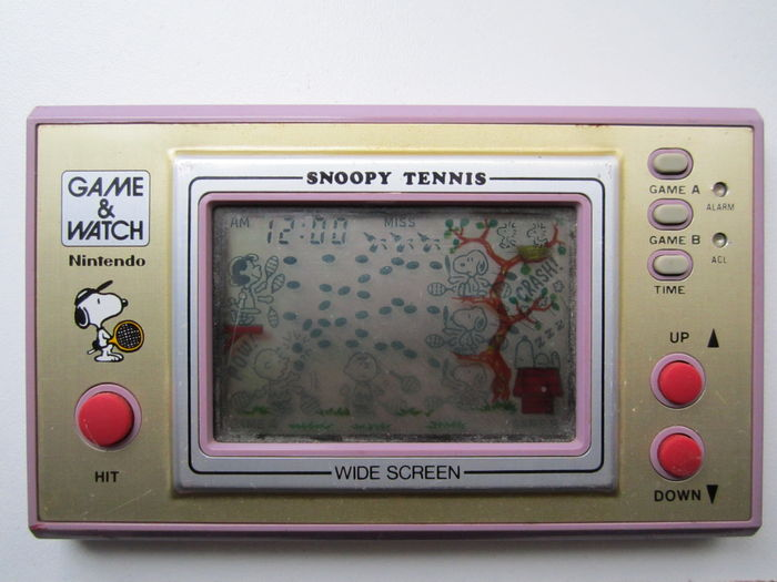 Nintendo Game and Watch Snoopy Tennis