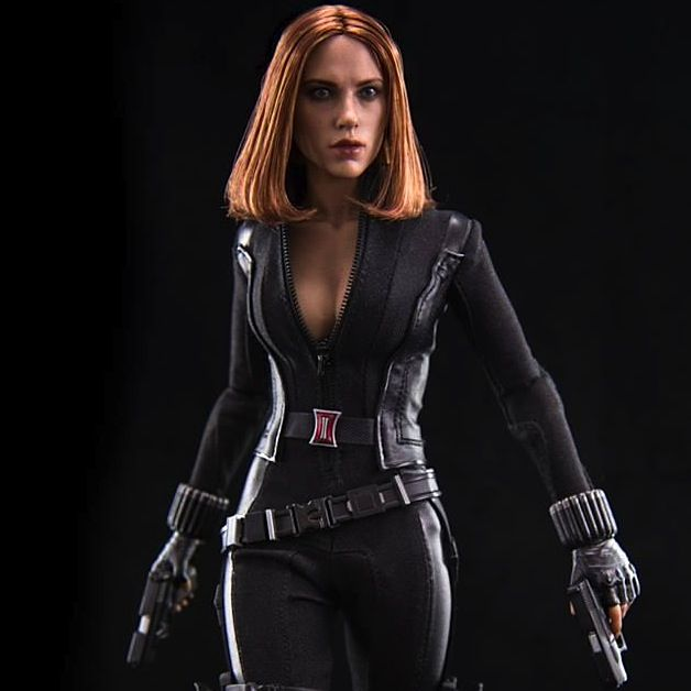 Captain America 2 - Hot Toys - 1/6 scale - Scarlett ...Captain America 2 Poster Black Widow