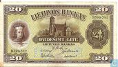 Lithuania 20 litu