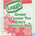 Green Lemon Tea Every Winter Day