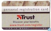 Trust - Personal registration Card