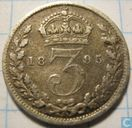 United Kingdom 3 pence 1895