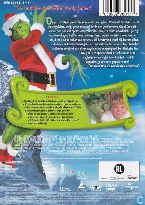 How The Grinch Stole Christmas Blu Ray.Dr Seuss How The Grinch Stole Christmas Dvd Catawiki