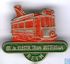 60 jr. Electr. Tram Rotterdam [red-green]