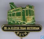 60 jr. Electr. Tram Rotterdam [green-black]