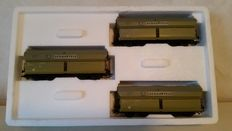 "Märklin H0 - 46247 - Three ""Schauffele"" high volume freight cars with cargo"