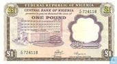 Nigeria 1 Pound ND (1968)