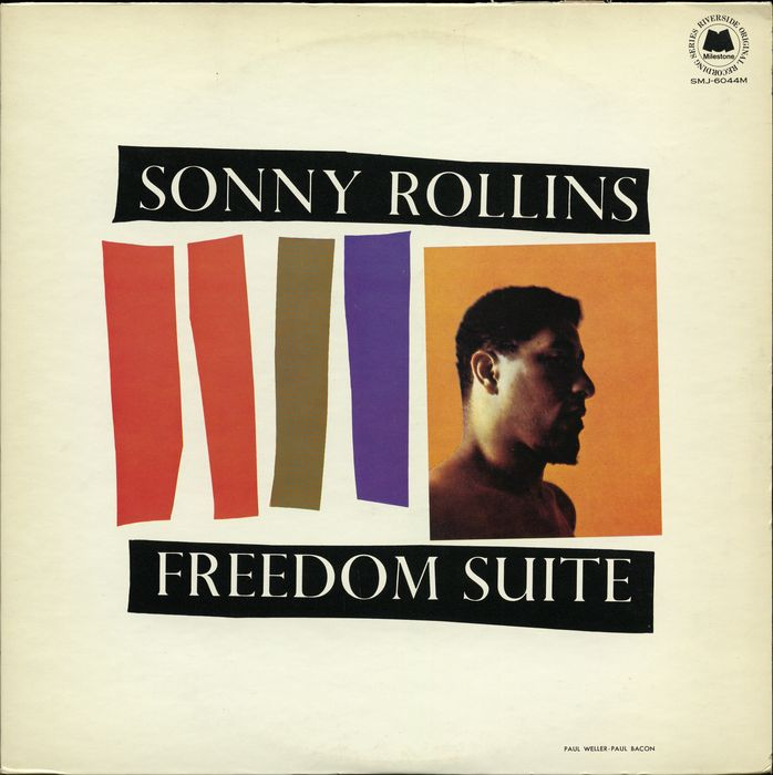 Jazz lot of three Sonny Rollins albums incl. a Japanese, Italian and French release