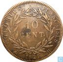 French Colonies 10 centimes 1827