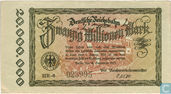 Berlin  20 Miljoen Mark 1923 (Rb)
