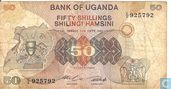 Ouganda 50 Shillings ND (1982)