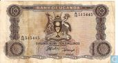 Ouganda 10 Shillings ND (1966)