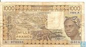 West Afr Stat. A 1000 Francs (Copy)