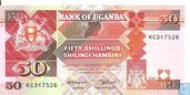 OUGANDA  50 Shillings (Copie)