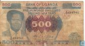 OUGANDA  500 Shillings (Copie)