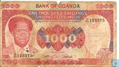 Ouganda 1.000 Shillings ND (1983)