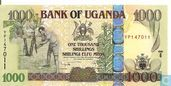 OUGANDA  1 000 Shillings  (Copie)